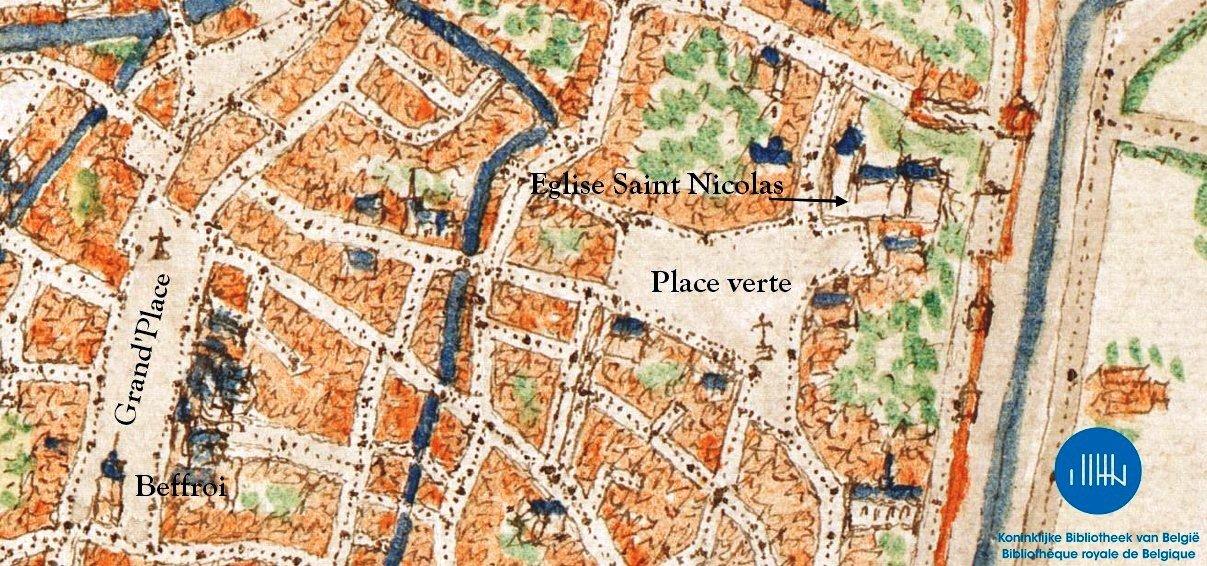 Emplacement église Saint Nicolas