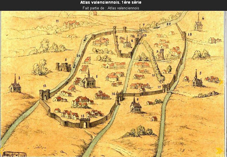 Valenciennes en 1008 S. Leboucq